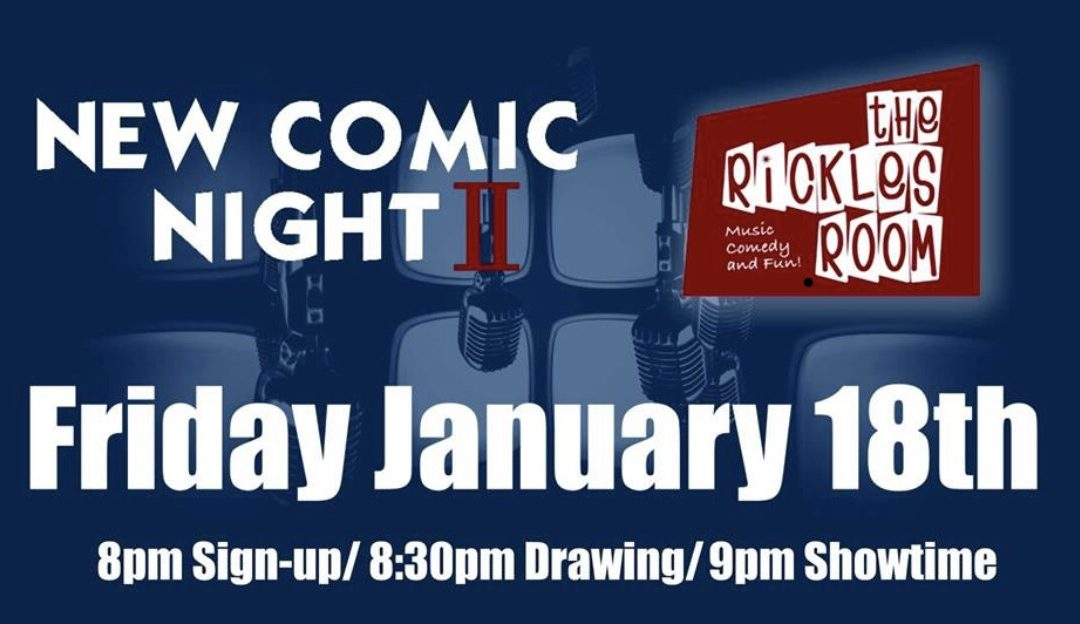 New Comic Night II in the Rickles Room