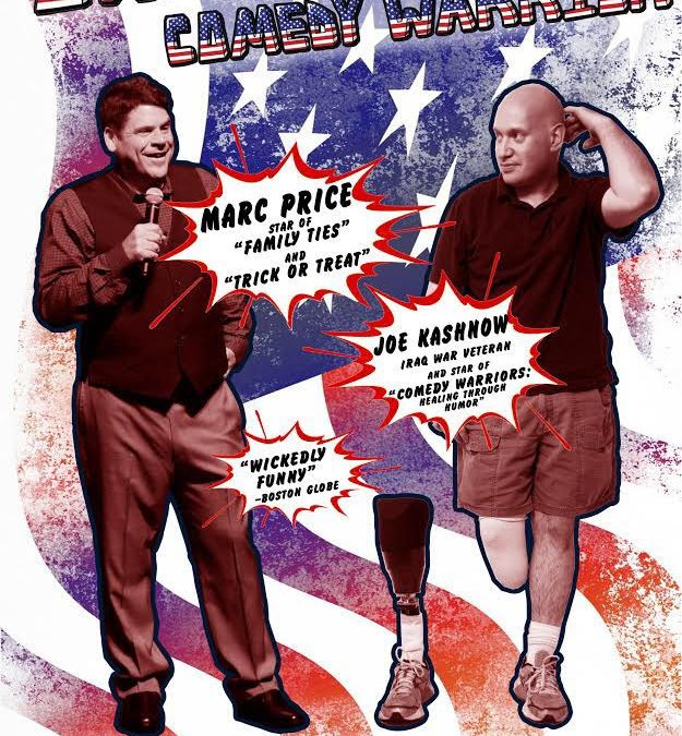 "Marc ""Skippy"" Price and the Comedy Warrior Joe Kashnow"