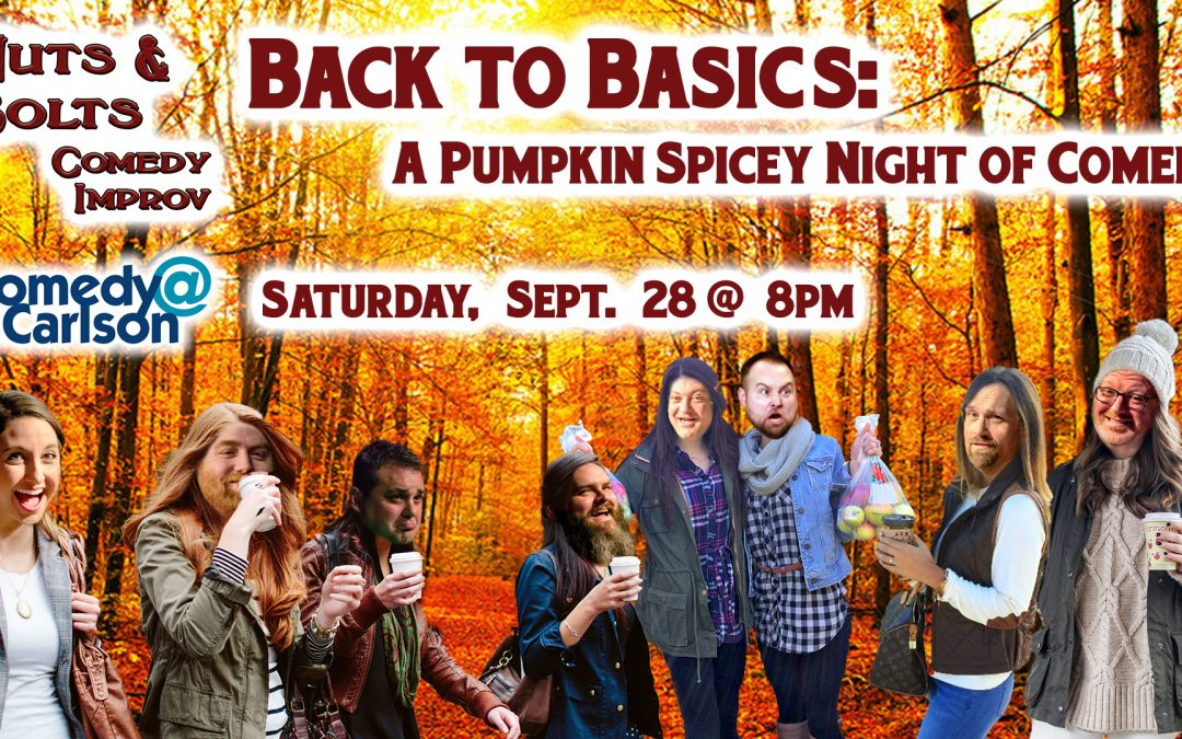Back to basics: A Pumpkin Spicy Night of Comedy